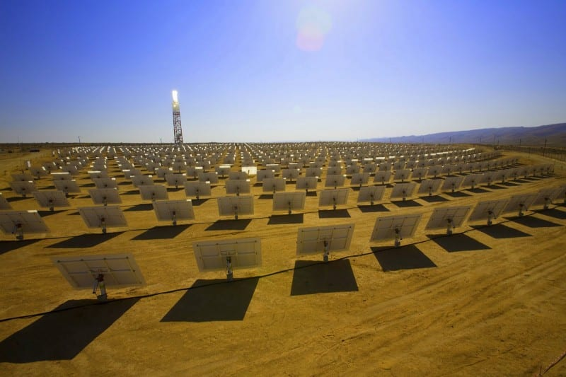 Centro de Energía Solar de Google, EEUU.