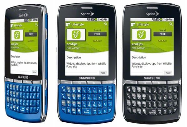 Smartphone ecológico Samsung Replenish