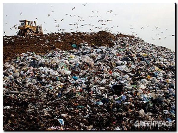 Vertedero-basura