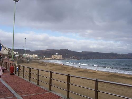 Playa en Las Palmas
