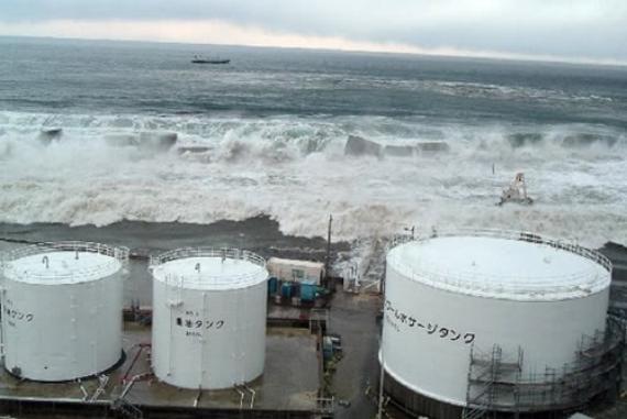 Centrales nucleares y tsunamis