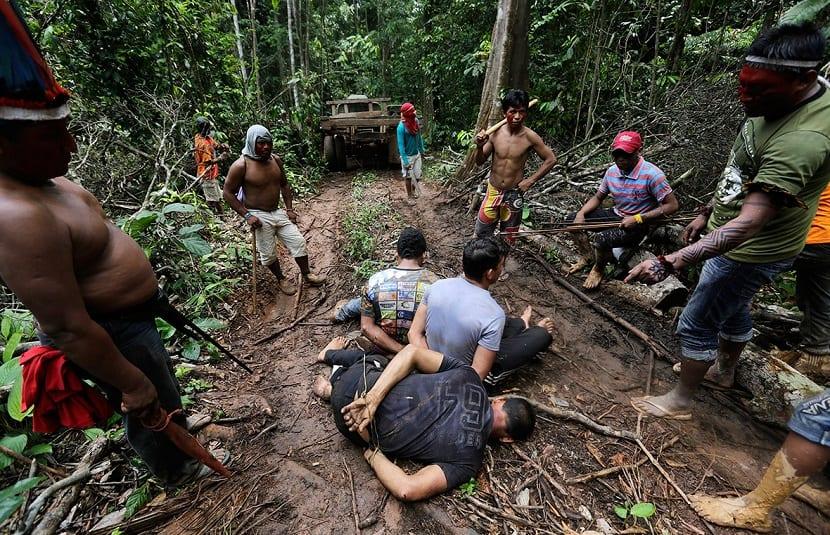 Amazonas guerreros indios