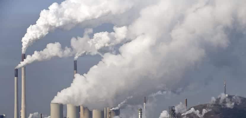 Emisiones de CO2 a la atmosfera y sus consecuencias