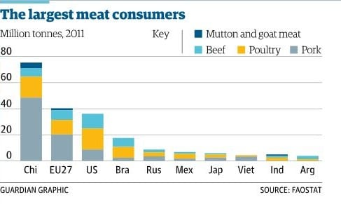 Consumidores carne