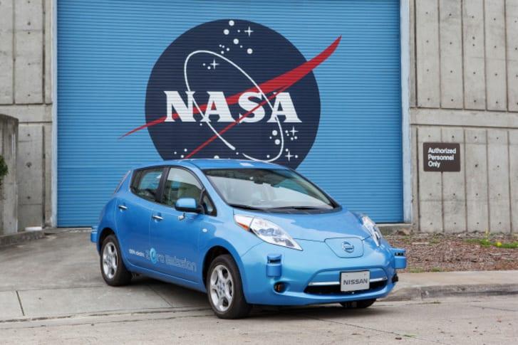 NASA Nissan coche