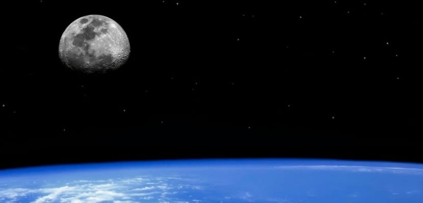 Atmósfera vista desde el espacio