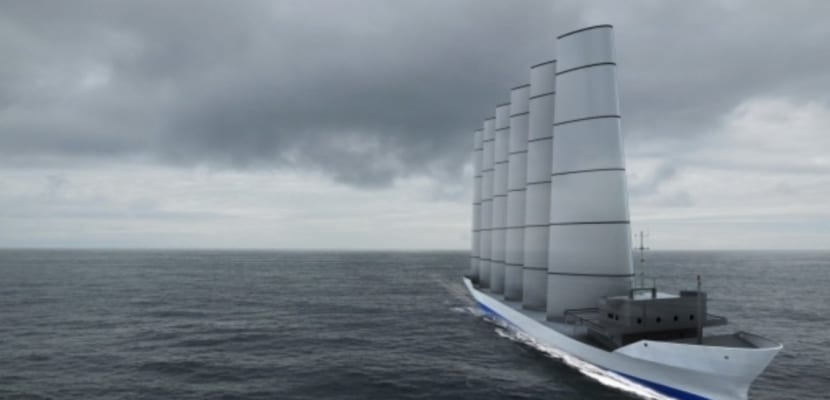 Energia vela barco