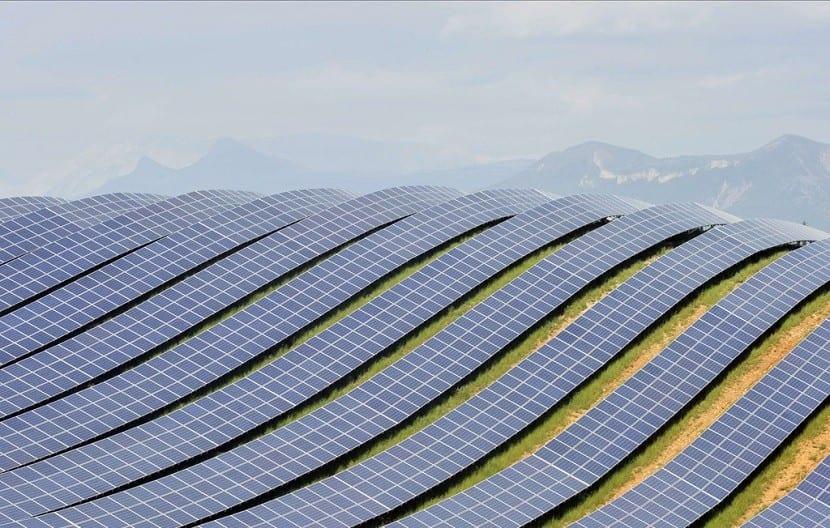 Energía solar Francia