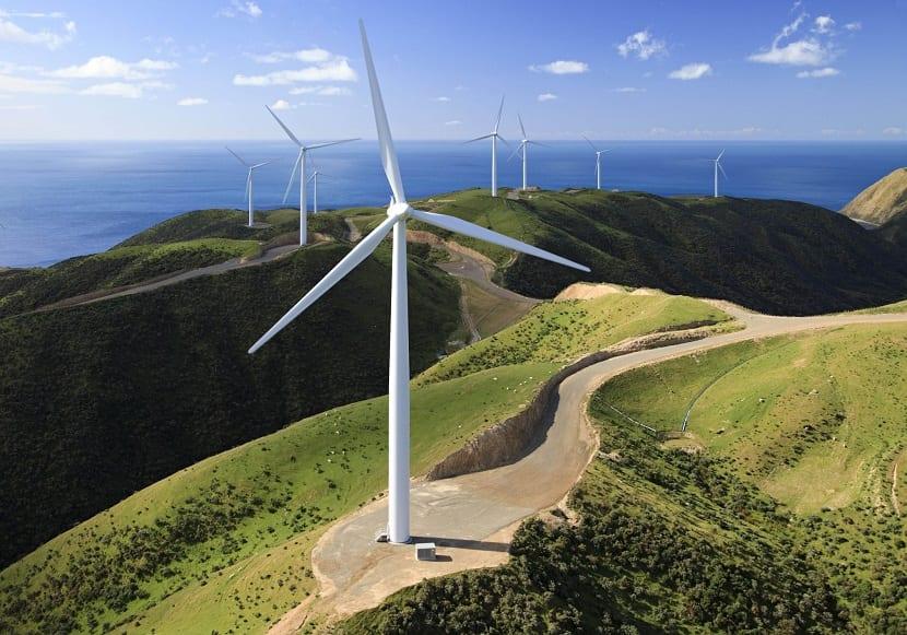 Turbinas de viento Alemania