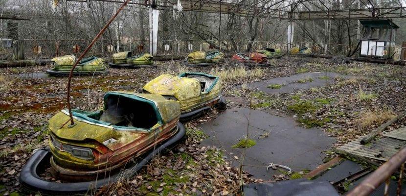 abandono por contaminación, como está chernobyl