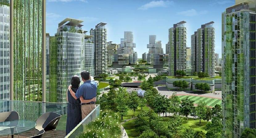 Ciudad moderna ecológica, el futuro que nos espera