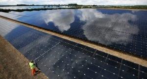 Las energías renovables superan al carbón