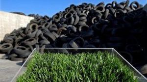 Campaña de reciclaje de neumáticos