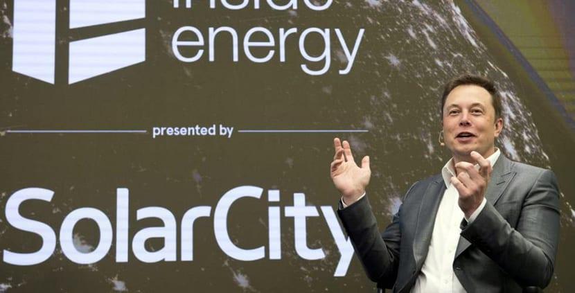 Elon Musk el fundador de Tesla y SolarCity