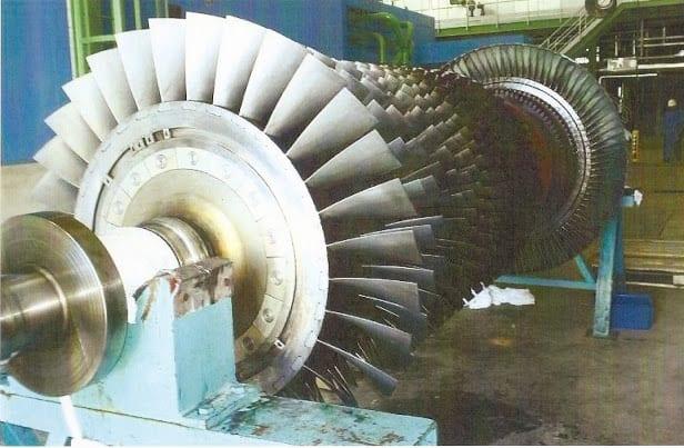 Turbina de gas en cogeneración