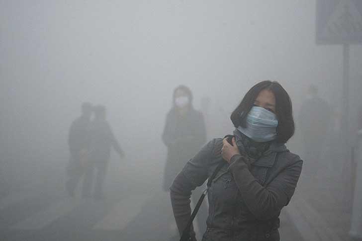 Alta contaminación