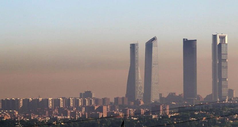 Contaminación urbana en Madrid