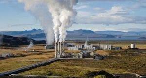 Central energía geotérmica