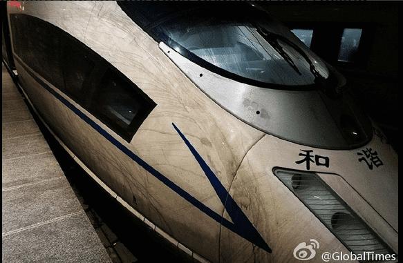 Efectos de la contaminación en un tren