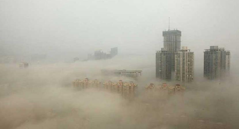 Contaminación en Beijing y sus consecuencias