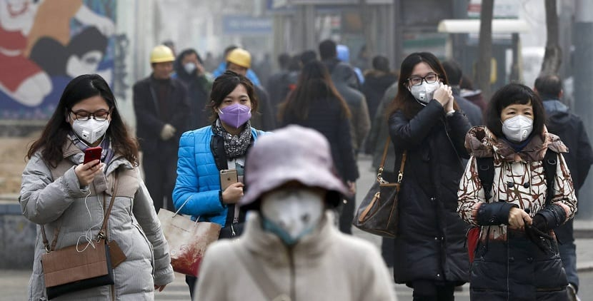 Máscaras contra la contaminación
