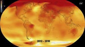 Temperaturas globales