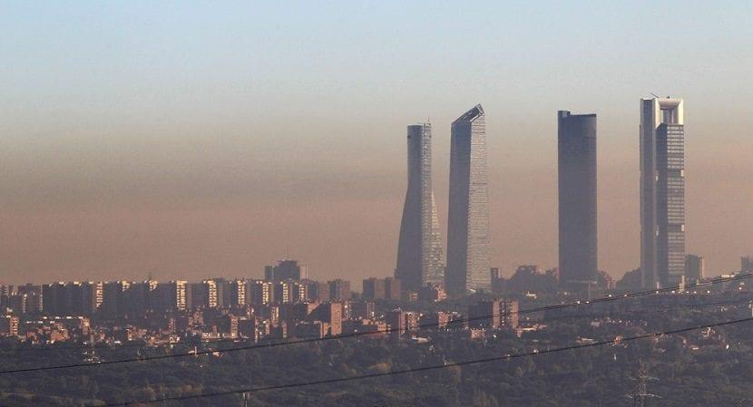 Madrid contaminacion