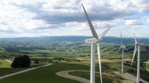 Molinos de viento modernos