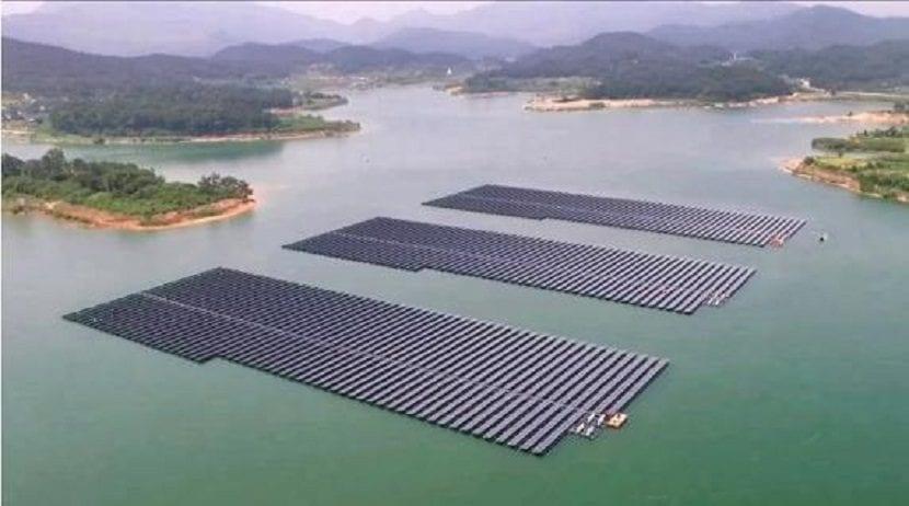 paneles solares en corea