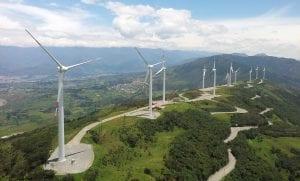 Presencia de parques eólicos