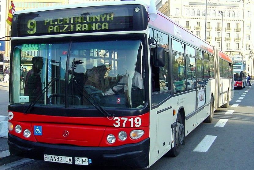 vehículos de transporte público