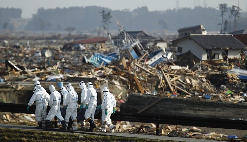 accidente nuclear de fukushima en Japón