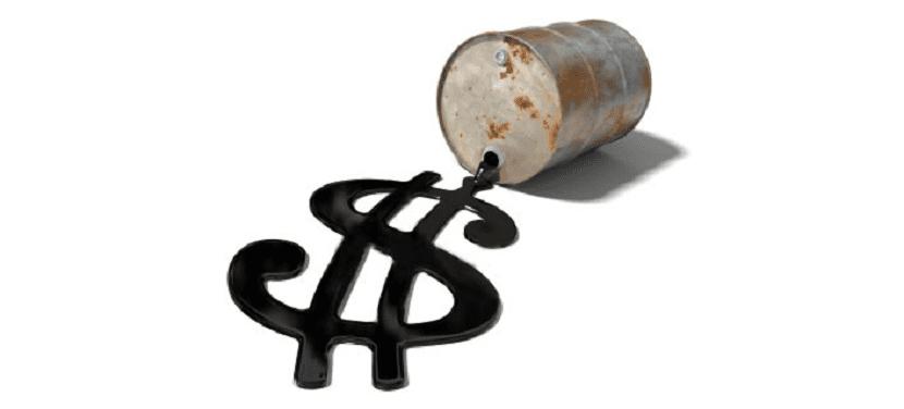 la demanda de petroleo se reduce