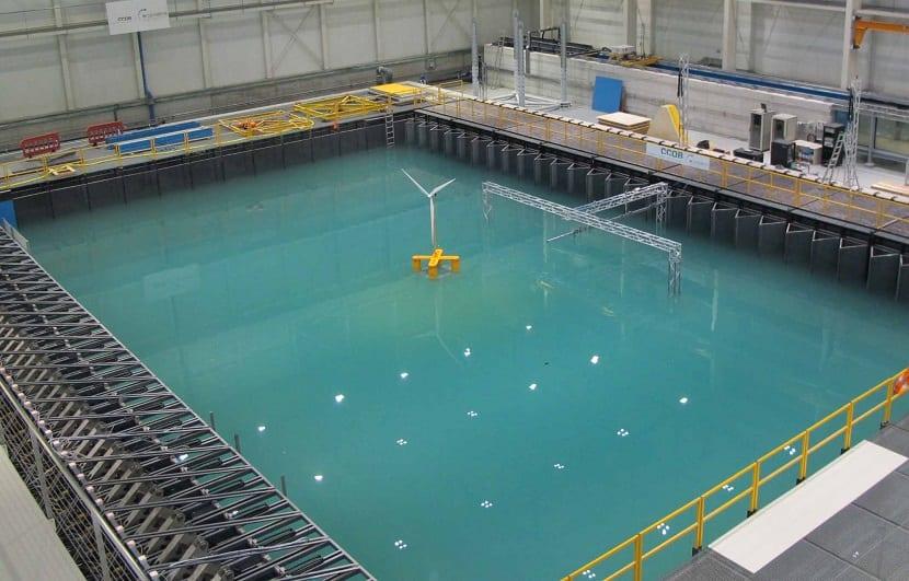 ensayos de energía eólica marina