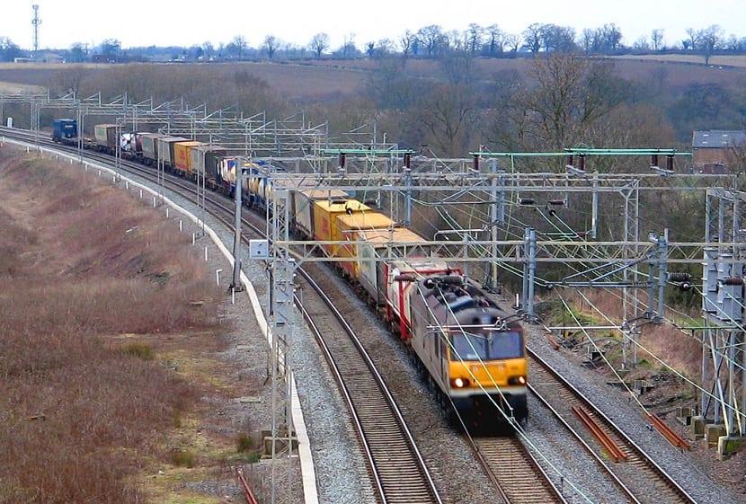 El transporte ferroviario es el más eficiente