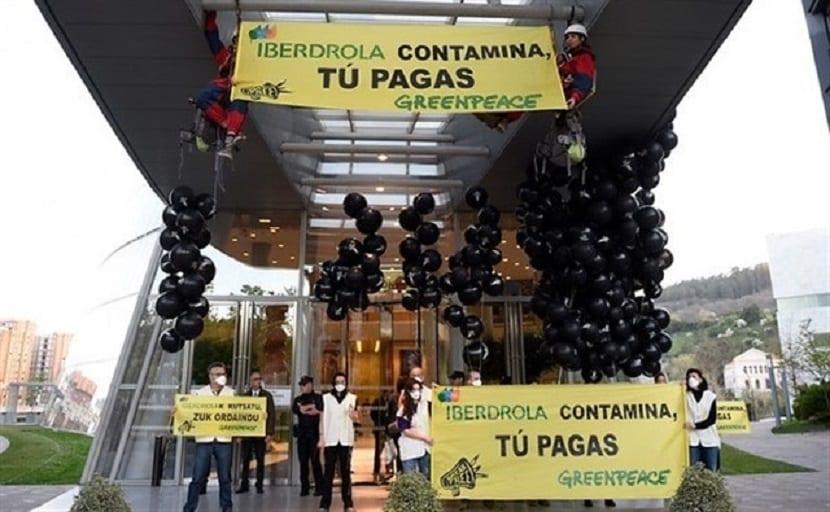 greenpeace contra la política de las eléctricas