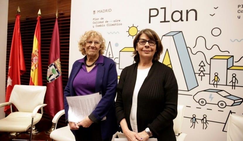 plan de calidad del aire en Madrid