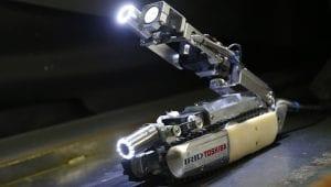 robot empleado en Fukushima