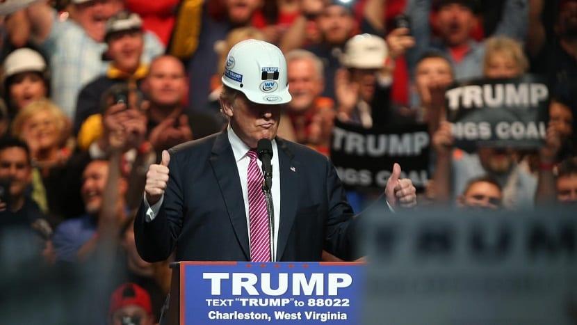 Trump favorece a la industria del carbón