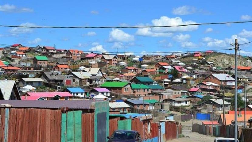 contaminación atmosférica en Ulán Bator