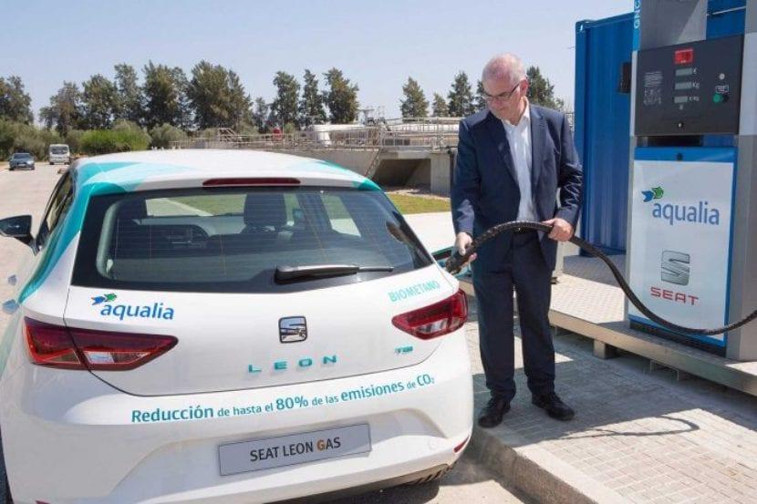 Combustible agua residual