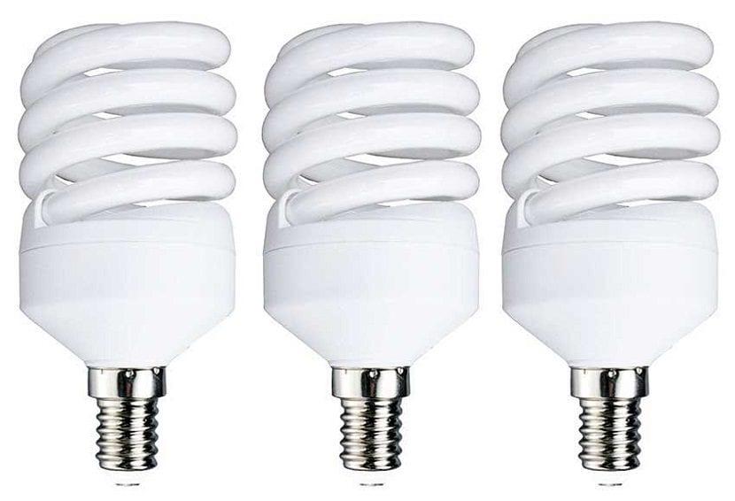 Comparativa de diferentes tipos de bombillas for Bombillas bajo consumo