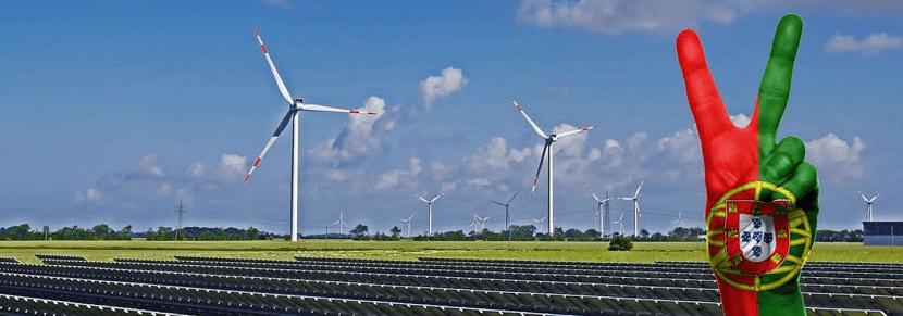 Portugar se abastece de energías renovables