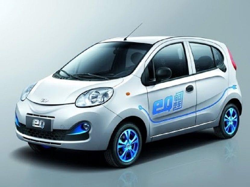 coche eléctrico barato Chery eQ