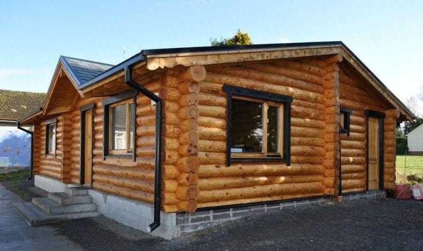 Casas de madera c mo elegirlas ventajas e inconvenientes - Propiedades de la madera ...