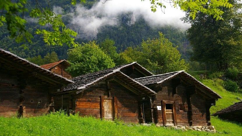 Casa madera tradicional