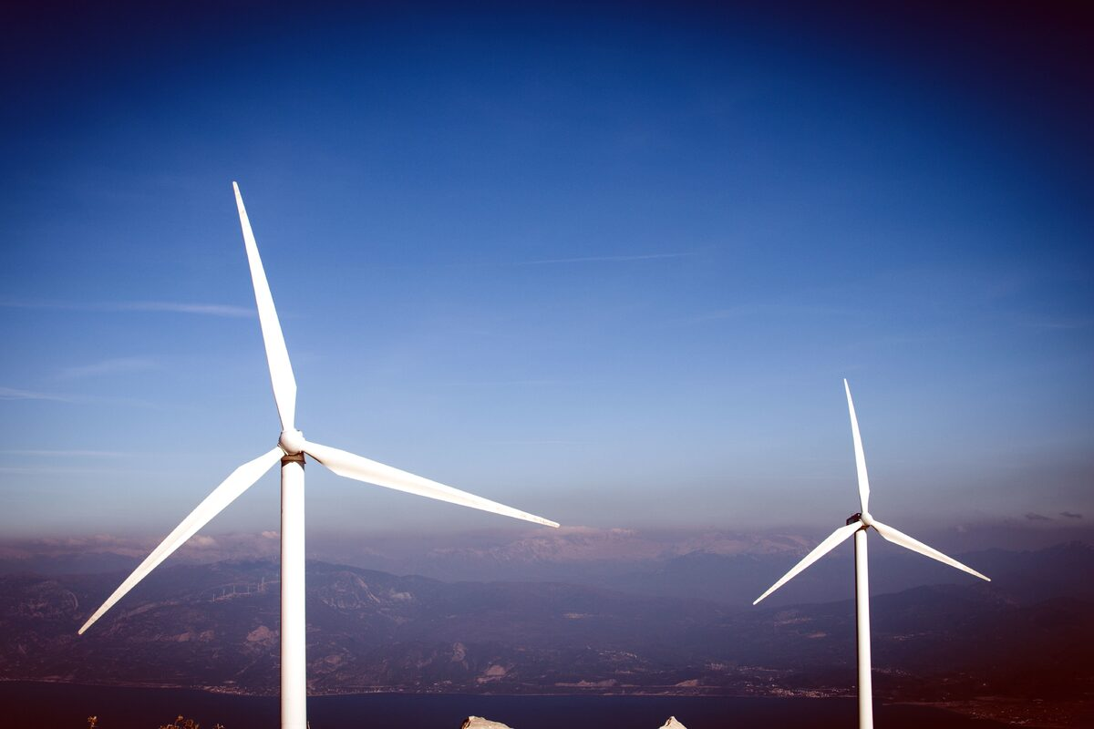 El aerogenerador transforma el viento en energía