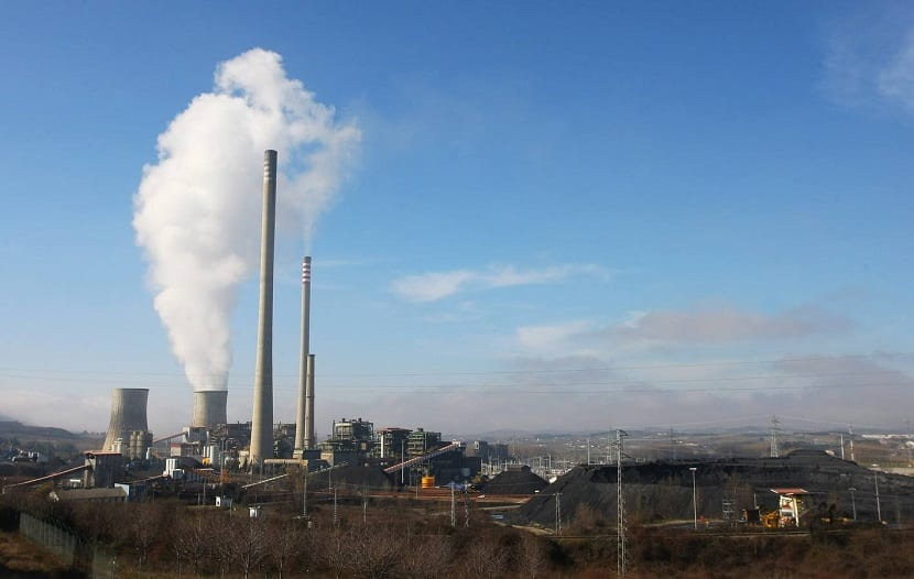 Contaminantes emitidos por las industrias pesadas