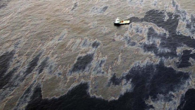 vertidos de petróleo y sus consecuencias