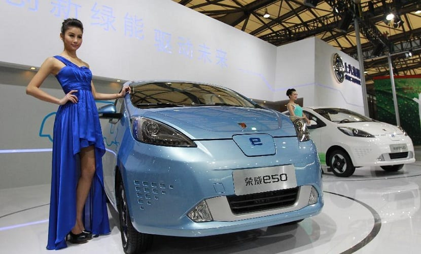 china lider de vehiculos electricos